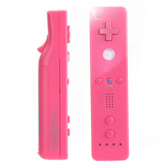 Harga Game Wiimote Built in Motion plus Inside Remote Controller for Nintendo Wii (Pink)