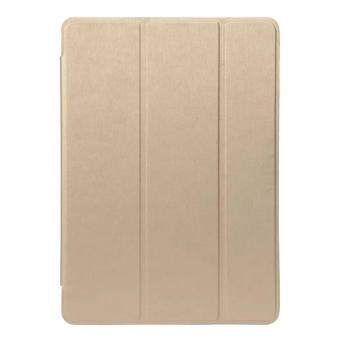 Harga Tri-fold Smart Leather Stand Case Cover for iPad Pro 9.7 inch - Gold