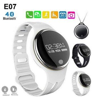 Harga Smart Wristband E07 for Android and IOS Smart Watch (White)