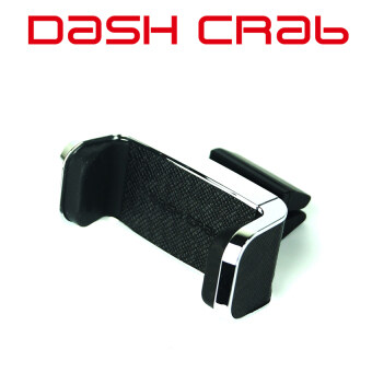 Harga Dash Crab Mono- Designer Leather Car Vent Mount (Black)