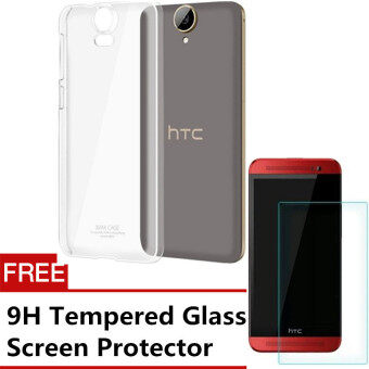 Harga Buy one, get one free iMak Transparent Back Cover for HTC One M9 (Clear) + Free Tempered Glass Screen Protector