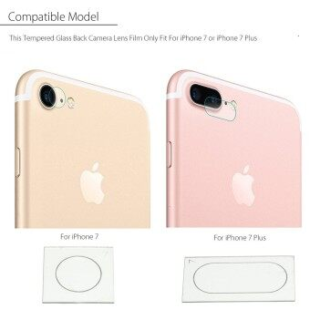 Harga 3PCS [for iPhone 7 plus] 9H Tempered Glass Back Rear Camera Lens Cover Film Protector For iPhone 7/7 Plus