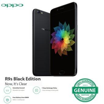 "Harga Oppo R9S 5.5"" 64GB ( Black Edition) - Official Oppo Malaysia Warranty"