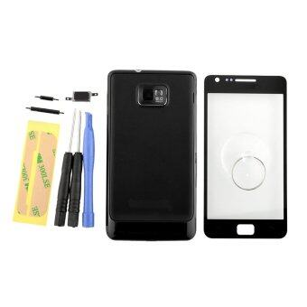 Harga Screen Glass+Tools Replacement for Samsung Galaxy S2 I9100 (Black)