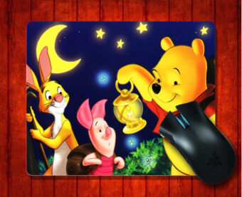 Harga MousePad Winnie the Pooh for 240*200*3mm Mouse mat Gaming Mice Pad