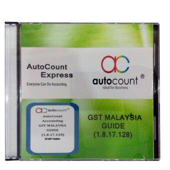 Harga AutoCount Express Accounting (GST Malaysia Guide)