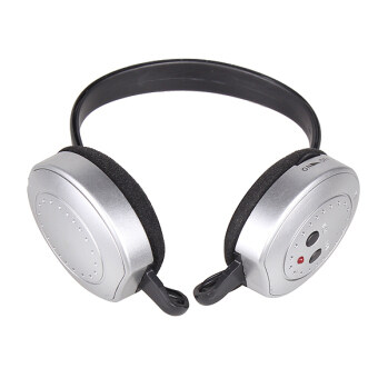 Harga Hi-Fi Wireless Headphones Headset Silver