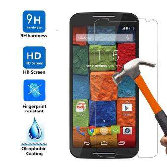 Harga 9H HD Clear Tempered Glass Screen Protector Film For Motorola Moto X (2nd Gen) / MOTO X2