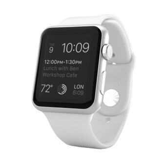 Harga Apple Watch 38mm Silver Aluminum Case with White Sport Band