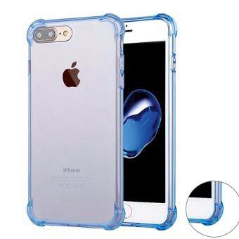 Harga iPhone 7 Plus Case GiMi Shock Absorption Bumper Soft TPU Anti-Scratch Cover Case for iPhone 7/ 7 Plus (Clear)