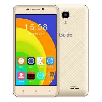 Harga Ding Ding guide A1 (2016) - 4.5Inch - QUAD CORE - 512MB+8GB (GOLD) -1 Year Ding Ding Malaysia Warranty
