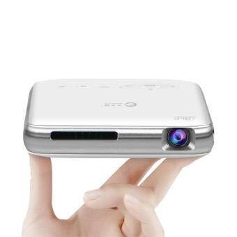 Harga CACACOL T6 Mini portable projector dlp Android wifi Handheld Projector with 5000 MAH battery