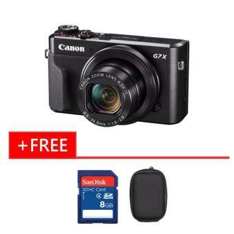 Harga Canon Powershot G7X Mark II Wi-Fi Digital Camera + 8gb + Case (Original Malaysia Warranty)