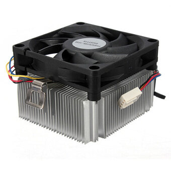 Harga New CPU Cooler Cooling Fan And Heatsink for AMD Socket AM2 AM3 1A02C3W00 Up to 95W (White)