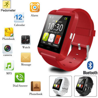 Harga Smart Watch Android Bluetooth Watch Camera For iPhone Samsung Kids Adult