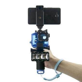 Harga YBC Floating Handle Grip + Shutter Stabilizer For GoPro Hero 5 Hero 4 Hero 3