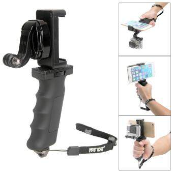 Harga Fat Cat Hand Grip Stabilizer w/ Phone Clamp for GoPro Hero 4 3+ 3 2