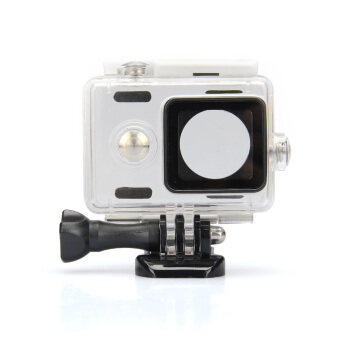 Harga Kingma Waterproof Plastic Housing Case Shell for Xiaomi Xiaoyi Digital Camera - White