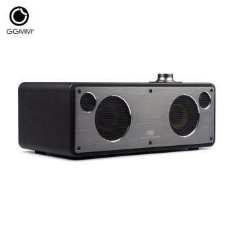 Harga GGMM M3 Retro Wi-Fi/Bluetooth Stereo Wireless Leather Speaker | Featuring 40W Output