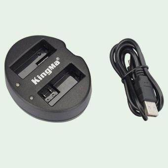 Harga Kingma Dual Battery Charger for LP-E8 LP E8 Battery - Canon 550D, 600D, 650D, 700D