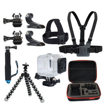 Harga Action Camera Accessories Bundle for Polaroid Cube Gopro Hero 4 3+32 1 KingMa