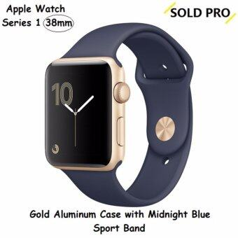 Harga Apple Watch 2 Gold Aluminum Case with Midnight Blue Sport Band 38MM(US SET)