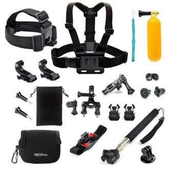Harga Accesory Kit for Gopro Hero 4 Hero 3+ Hero 3 Xiaomi Yi ActionCamera(Intl)