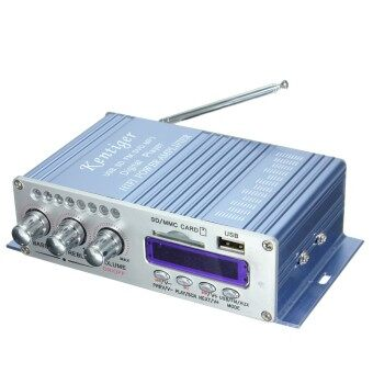 Harga Power Amplifier HiFi Stereo 2-CH AMP For Car Motorcycle MP3 FM Audio Music Mini