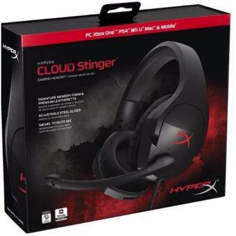 Harga KINGSTON HEADSET HYPER-X GAMING CLOUD STINGER (HX-HSCS-BK/AS) BLK