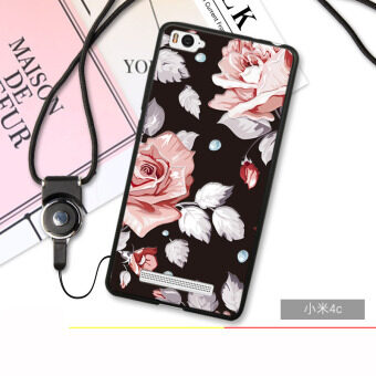 Harga 3D Relief TPU Soft Phone Case for Xiaomi Mi 4C/Xiaomi Mi 4I (Multicolor)