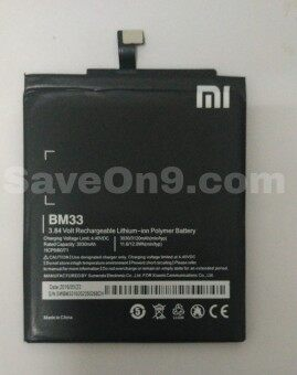 Harga Genuine Original Xiaomi Battery BM33 for mi 4i mi4i