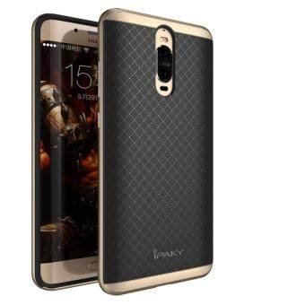 "Harga Top Quality For Huawei Mate 9 pro / mate 9 porsche 5.5"" inch Case Luxury Silm Armor PC Frame + Silicone Back Cover (Gold)"
