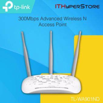 Harga TP-LINK TL-WA901ND 450Mbps Wireless N Access Point AP Repeater