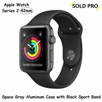 Harga Apple Watch 2 Space Gray Aluminum Case with Black Sport Band 42MM(US SET)