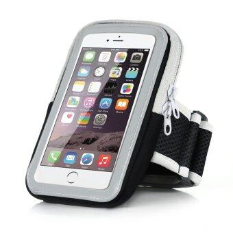 Harga 5.5 inch Big Capacity Sport Running Armband Arm Band Holder Phone Cases For 5.5 inch Mobile Phones iPhone 6Plus/6S Plus 7Plus/7S Plus(Black)