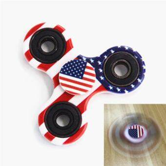 Harga GLiving Hand Fidget Spinner Toy Stress Reducer and Perfect For ADD, ADHD ,Finger Toy fidget work Ultra Fast Bearings