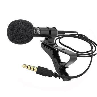 Harga Moonar Lapel Clip-on Omnidirectional Condenser Microphone for Mobile Phone