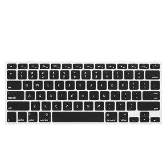 "Harga Awinner Keyboard Cover Silicone Skin for MacBook Pro 13"" 15"" 17"" (with or w/out Retina Display) iMac and MacBook Air 13""-Black"