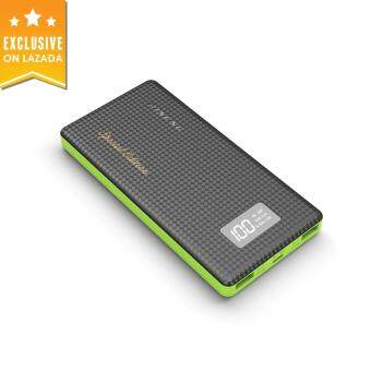 Harga PINENG 10000mAh Lithium Polymer Special Edition Power Bank (Black)