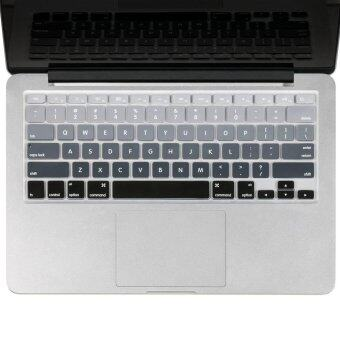 Harga Welink Fashion Silicone US Keyboard Cover Waterproof Keyboard Protector Skin For Apple Macbook Air 13 Inch Macbook Pro 13 Inch 15 Inch And Imac (mix Grey Ombre)