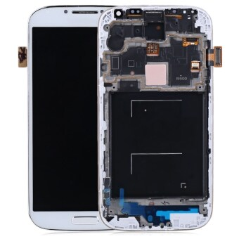 Harga Replacement LCD Display Touch Digitizer Screen For Samsung Galaxy S4 I9500 with Frame Assembly +Tools Kit