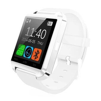 Harga Evatronic U8 UWatch Bluetooth Touch Screen Smart Watch - Android Smart Wrist Wear Notification (White)