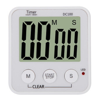 Harga LCD Digital Cooking Kitchen Countdown Timer Alarm Count Down Timer