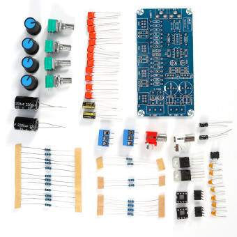 Harga AMP Preamplifier Amplifier Volume Tone Control Board DIY Set Kits Low/Middle/High Pitch