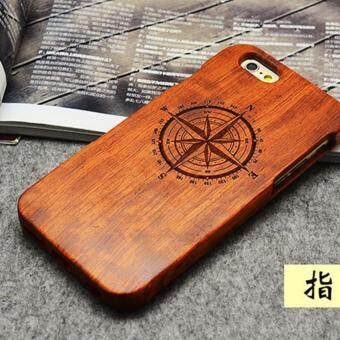 Harga LYBALL 100% Handmade Real Bamboo Wooden Wood Case cover for iPhone 5 5s SE