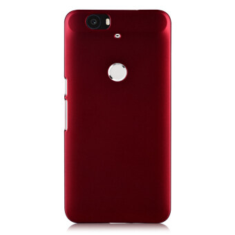 Harga For Huawei Nexus 6P Case Hard Plastic Frosted Back Cover For Google Nexus 6P Case Cover(Red)