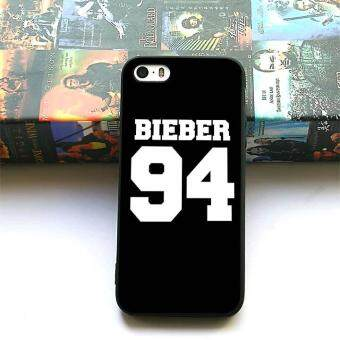 justin Bieber 94 silicone soft phone case for Apple iPhone 5 5s SE