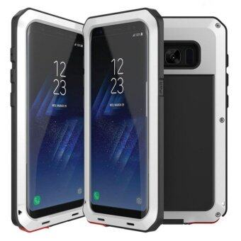 LUNATIK For Samsung Galaxy S8 Plus Gorilla Tempered Glass Waterproof Anti Shock Aluminum Metal Armor Case