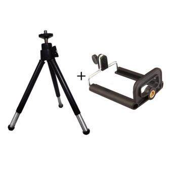 Madpro Universal Mini Tripod Stand Mount + Phone Holder Clip ForGopro Hero Camera iphone Portable Flexible