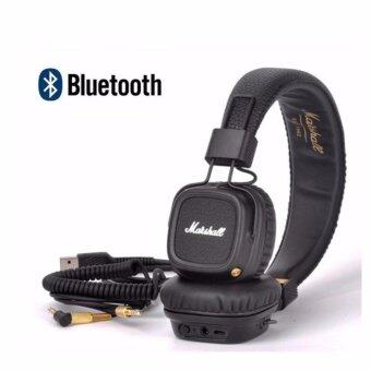 Harga Marshall Major II Bluetooth Wireless Foldable Headphones with Built-in Microphone and Remote